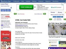Cool Cookie Math Lesson Plan
