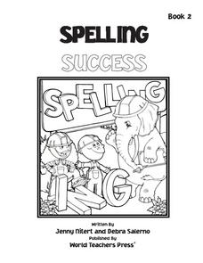 Spelling Success: Mini Book 2 Worksheet