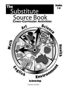 The Substitute Source Book Worksheet