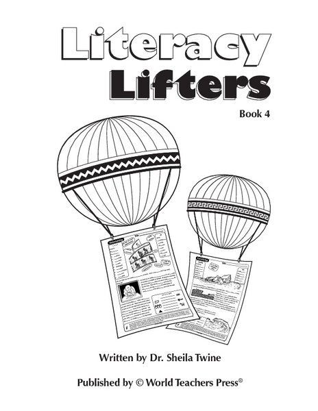 Literacy Lifters Book 4: Entertainment Worksheet for 6th