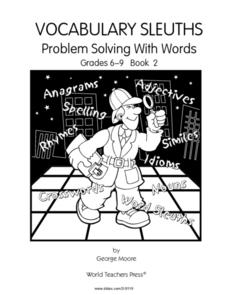 Problem Solving With Words: Vocabulary Sleuths Book 2 Worksheet