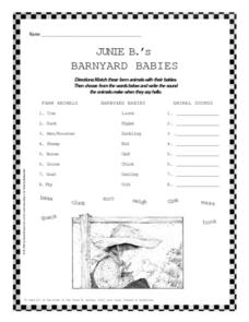 Junie B Jones Lesson Plans & Worksheets Reviewed by Teachers