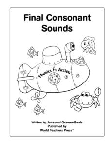 Final Consonant Sounds: Review - ft, ld, lt, mp, nd Worksheet