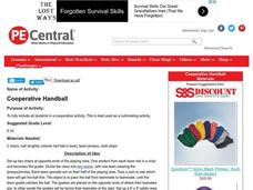 Cooperative Handball Lesson Plan