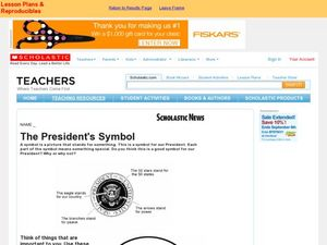 The President's Symbol Worksheet