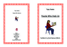 Topic Books: People Who Help Us Worksheet