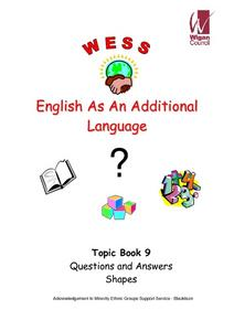 English as an Additional Language: Topic Book 9: Questions and Answers, Shapes Worksheet