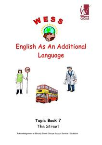 English as an Additional Language: The Street Worksheet
