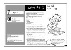 Seed Sorting Lesson Plan