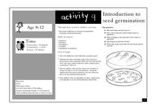 Introduction to Seed Germination Lesson Plan
