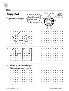 Copy Cat Worksheet
