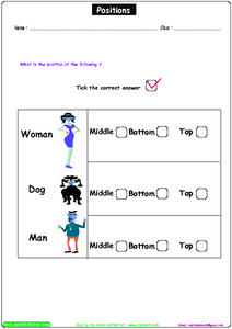 Positions 2 Worksheet