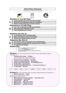 Future Plans Worksheet