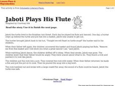 Jaboti Plays the Flute Interactive