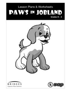 Paws on Jobland Kindergarten - 2nd Grade Lesson Plan | Lesson Planet
