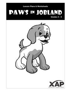 Paws in Jobland  Step by Step Lesson Plan