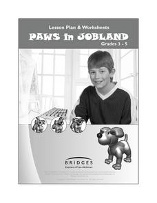 Getting to Know Paws in Jobland Lesson Plan