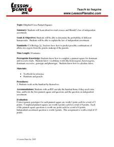 Dihybrid Cross Lesson Plans & Worksheets | Lesson Planet