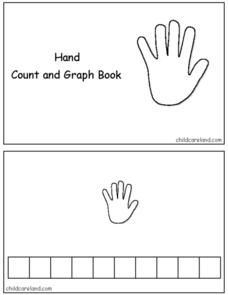 Hand Count and Graph Book Worksheet