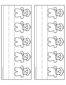 Snow Bear Nameplates Worksheet