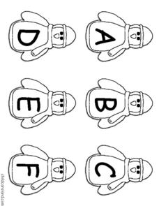 Penguin Letter Sequence Worksheet