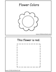 Flower Colors Worksheet