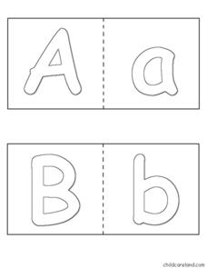 Alphabet Puzzles Worksheet
