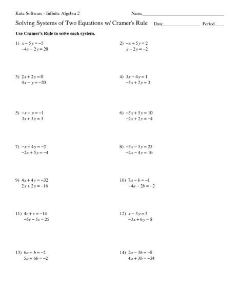 Systems Of Equations By Elimination Worksheet - Rringband