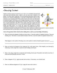 Of carbon worksheet the chemistry Carbon