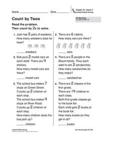 Count by Twos Worksheet