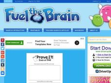 Brain Booster: Prove it! Even or Odd Interactive