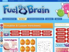 Brain Booster: Equal Grouping, Mixed Problems Interactive