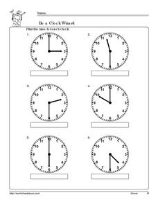 Be a Clock Wizard! Worksheet