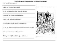 Punctuation Review 6 Worksheet