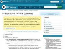 Prescription for the Economy Lesson Plan