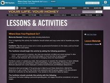 Where Does Your Paycheck Go? Lesson Plan