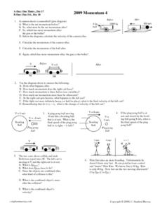 2009 Momentum 4 Worksheet