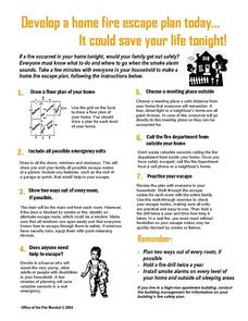 Home Escape Plan Worksheet