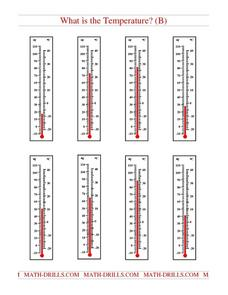 What is the Temperature? (B) Worksheet