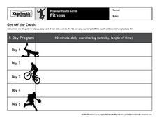Get Off the Couch! Worksheet