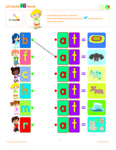 Let's Build at Words Lesson Plan