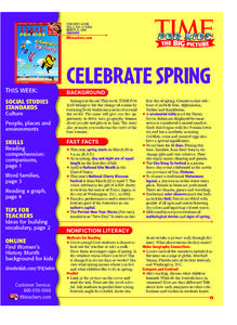 Ring in Spring Lesson Plan
