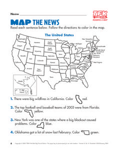 Map the News Lesson Plan