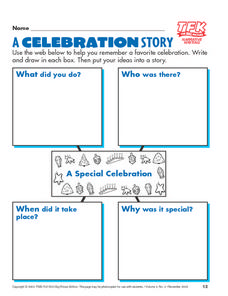A Celebration Story Lesson Plan