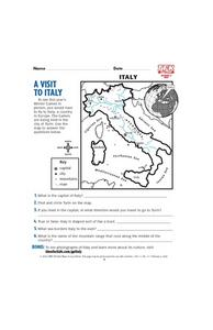 A Visit to Italy Lesson Plan
