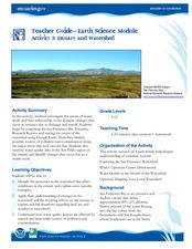 Estuary and Watershed Lesson Plan