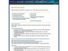 Monitoring Coral Reefs Lesson Plan