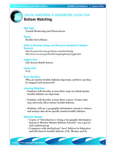 Coastal Monitoring and Observations-Bottom Watching Lesson Plan
