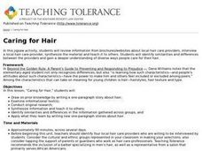 Caring for Hair Lesson Plan
