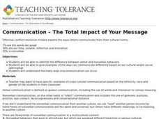 Communication – The Total Impact of Your Message Lesson Plan